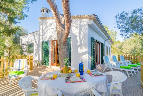 Surrounded By Woods, This Lovely Single Family House Is Located In Cala  Su0027Almonia