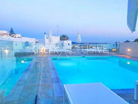 Apartments Hotel in Paros for sale consists of 23 rooms, 10 Studios, 4 Family apartments, 5 Hotel Rooms, 1 apartment for staff. 1 staff, Room 4 stores, 1 office 1 laundry & linen closet one shared bathroom. 1 bathroom staff. Reception with Bar, kitch...