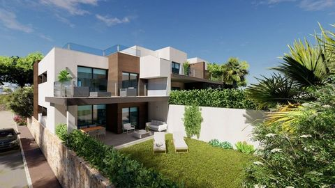 New built apartments, with a modern architecture, with 2 bedrooms and 2 bathrooms, kitchen open to the living room, with various models to choose from, terrace and garden on the ground floor apartments, and solarium on the top floor, all distributed ...