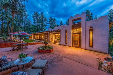 This beautiful home in Beulah, Co has a distinctive architectural style all its own. Created by a collaboration of an outstanding interior designer, a working artist, and a nationally recognized restoration contractor this fully restored home embrace...