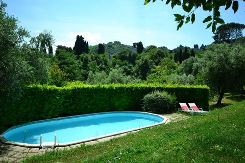 Our charming house is a splendid 18th century villa in the hills around the medieval city of Lucca and is located next to a small 11th century church. Through the large windows overlooking the valley, there is plenty of sunlight on the ground floor, ...