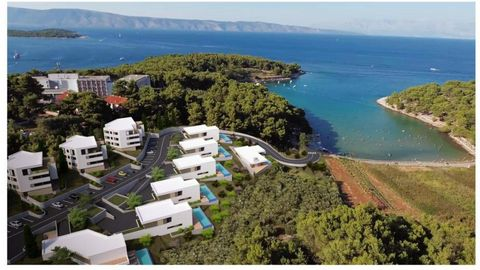 Luxury villas Dalmatia Farkaš sell a beautiful project located 1st line from the sea on island Hvar, for building 7 high class luxury villas with pools and 4 buildings with total capacity of 16 luxury apartments. Exclusive location! For more details ...