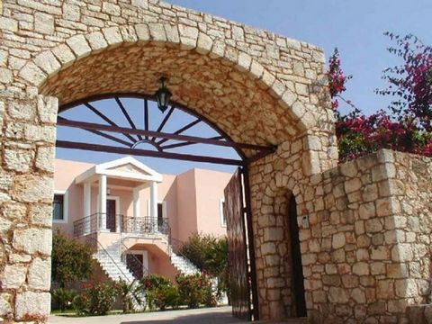Unique, luxurious two-storey residence of 400 sqm in a plot of 2050 sqm (included in the urban plan of the area) 10 Km from the town of Chania. It is build in Cretan-Venetian style and it consists of 5 bedrooms, 4 bathrooms, 2 kitchen, 2 dining-rooms...