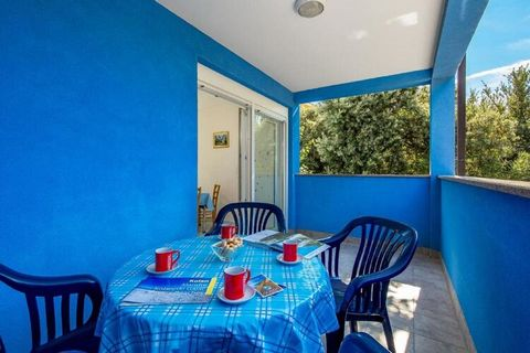 This location is a beauty to settle in. This apartment is in a peaceful fishing village on Pag Island of Mandre's unspoiled beaches a stone's throw away. This place can accommodate 5 people in 2 bedrooms and a living cum bedroom. With a terrace here,...