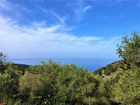 For sale land of 1.404 sq m in the center of the wonderful island of Paxos, in the area of Magazia. The plot is slightly slope and has a building license of 150sqm. Water and electricity connections are next to it and within easy access. It has an am...
