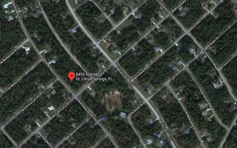 2 plots of land for sale in Citrus Springs Florida USA Euroresales Property ID – 9826389 PROPERTY LOCATION Citrus Springs Florida USA PROPERTY OVERVIEW Here we present two plots in prime development area in the USA. The land is located in Citrus Spri...
