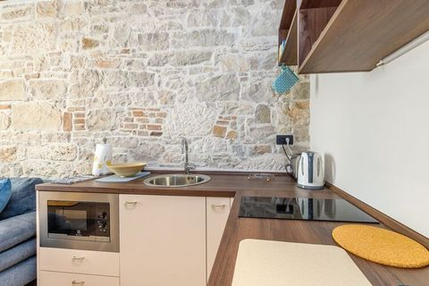A newly renovated one bedroom suite in the heart of Poreč. Although not on the waterfront, it is located just off the main town square, 50 meters from the sea promenade and less than 10 minutes walk to the beach. Kandler street does not have much tra...