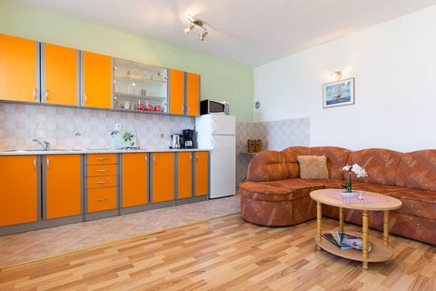 This stylish apartment is in Senj. It is ideal for a small group and can accommodate 4 guests. This apartment has 2 bedrooms and a shared swimming pool for you to relax and get rejuvenated. The nearest restaurants are 600 m away from the stay if you ...