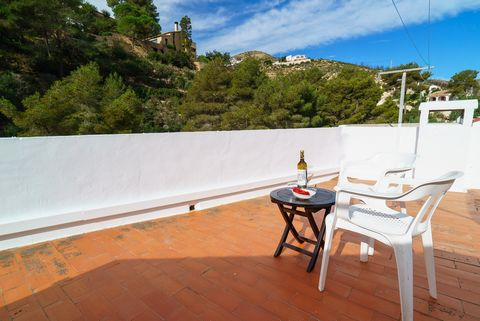 Fantastic and renewed apartment for 6 people in Xàbia, particularly 120 metres away from the cove of La Granadella, being part of the fishers' houses in an extraordinary natural environment. Since this is a coastal but at the same time mountain area,...