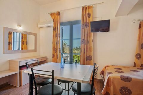 A pleasant abode to unfurl at, with a beautiful scenery to greet you each morning. Located in Lesvos Island, on a hillside overlooking Petra Bay, just a few minutes' walk from the picturesque village. 2 people can be accommodated in a bedrooms, this ...