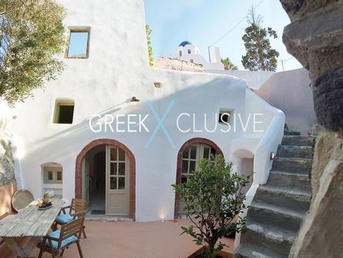 This traditional house built on 2 levels is located in the lovely village of Exo Gonia. Recently restored, it has a sophisticated design and large spaces: it consists of a large fully equipped kitchen, integrated beds and sofas. The house is on the g...