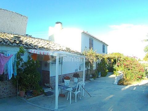 A two Storey cortijo for sale in a rural area near to Cantoria here in the Almanzora Valley. The ground floor of the cortijo has a large lounge connected to the kitchen and dining area and has a fireplace. Off the lounge there is a bedroom, bathroom ...