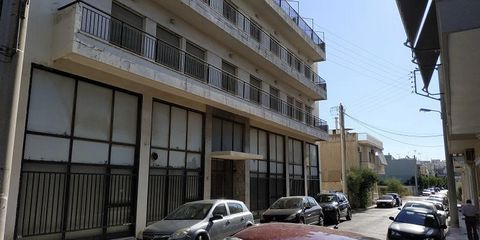 Athens, Agii Anargiri. For sale is a six-story building with an area of 1490 sq.m. on the plot of 668 sq.m. Year Built 1975.The original building permit is for shops on the ground floor and apartments on the other floors. In 1987, permission was chan...