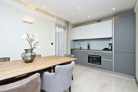 This luxury apartment, with private heated swimming pool is located in Crikvenica only 15 meters from the sea. Ideal for a small group, guests can take a dip in the swimming pool or in the sea . You can walk down to the beach, where you can enjoy a d...