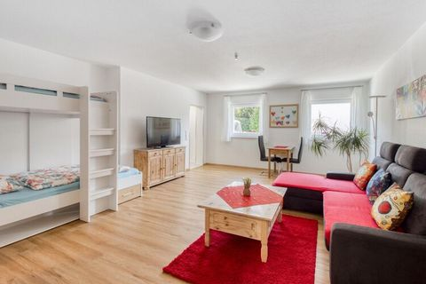 Located in the peaceful vicinity of Freiburg this simplistic apartment has a living room/bedroom which can house 2 people comfortably. Suitable for a family or a couple this house is just a minutes walk from the forest where you can have a soothing s...