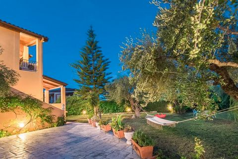 The Villa is located in Lithakia. It is a traditional 2floor house with a large garden of 2,000 m2, which is surrounded by thick greenery ensuring privacy Bedrooms:5 Bathrooms:6 On the 1st floor there are the specious living room with the dining room...