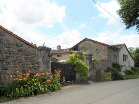 Our ref- AI4817 This very attractive home with attached gite is located in a pretty village not far from amenities. With a large garden, private courtyard and several large outbuildings giving scope for further projects. Highly recommended! The large...