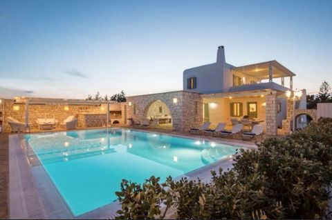 This very charming Cycladic villa, is situated at the entrance of the small fishing harbor of Alyki, in walking distance to the beach and all amenities of the village. This recently constructed detached residence is part of a small group of in total ...