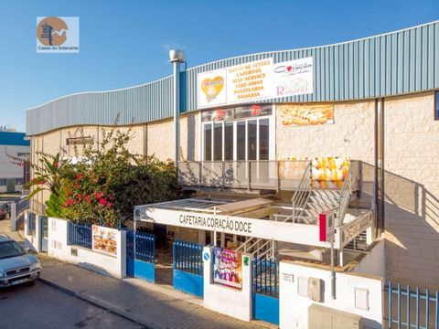Manufactures in the Industrial zone licensed for manufacture cakes, ice cream, cafeteria, takeaway, ballroom, fully equipped with industrial equipment in Vila Real de António Energy Rating: Exempt #ref:CS-FÁB-64210