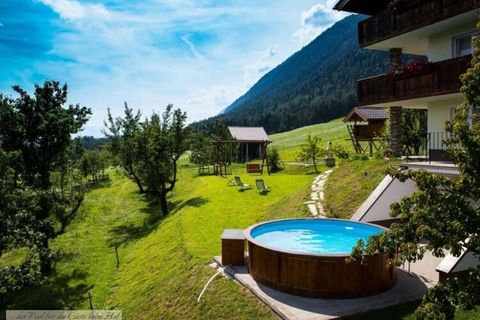 At 840m above sea level, the Umlberg in Terfens, this apartment features stunning views over the Inn Valley and a wonderful spa area. Ideal for friends or family. The residence is approximately 3km from the city center. The free ski bus to the ski pa...