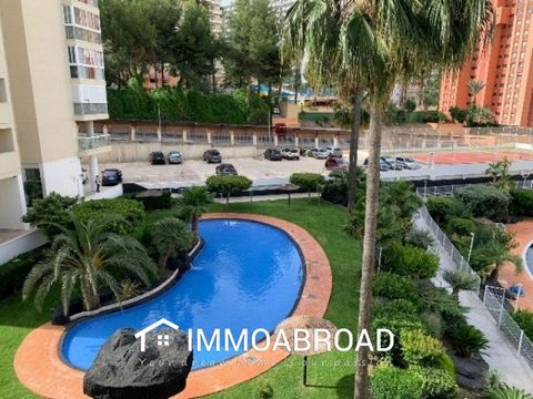 Apartment in Benidorm Rincon de Loix area, 52 m. surface, 450 m. from the beach, a double room, a bathroom, property in good condition, equipped kitchen, aluminum interior carpentry, south facing, ceramic, aluminum exterior carpentry. Extras: pmr acc...