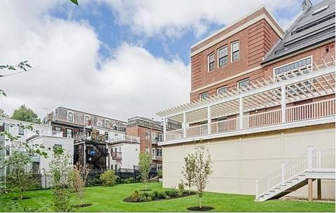 Welcome to the ARMORY! One of Charlestown's newest luxury condominium developments. This two bedroom luxury condo features two bathrooms, high ceilings, stainless steel appliances, granite counter tops, an integrated sound system, and two deeded park...
