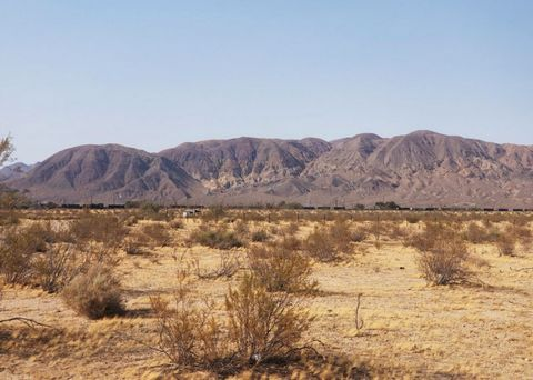 Located in Yermo. !!! 10 ACRES!!! With ELECTRICITY! Located in-between the 15 and 40 freeways Just past Barstow. 15 minutes from a Walmart Supercenter. Property is Zoned IC. Bring your toys as OHV is all around With the Calico Ghost Town only 4 miles...