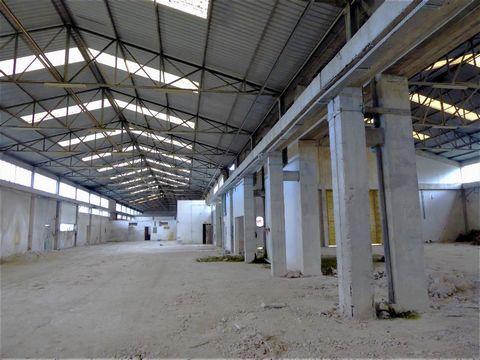 Armazém 2 600m2 e escritório. Portugal, Mirandela. Vende-se Armazém de 2 600m2 com boa estrutura, na zona Industrial de Mirandela, a necessitar de pequenas BENEFICIAÇÕES a nível de piso, pinturas, eletricidade e conforto. Com logradouro. Adequadas pa...