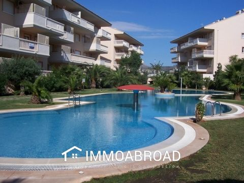 1 Bed Apartment walking distance to the Arenal Beach, Javea.Apartment located in the fabulous urbanization of Nou Fontana, a step away from the Arenal beach and all services,It has a large swimming pool for adults and another for children with a gar...