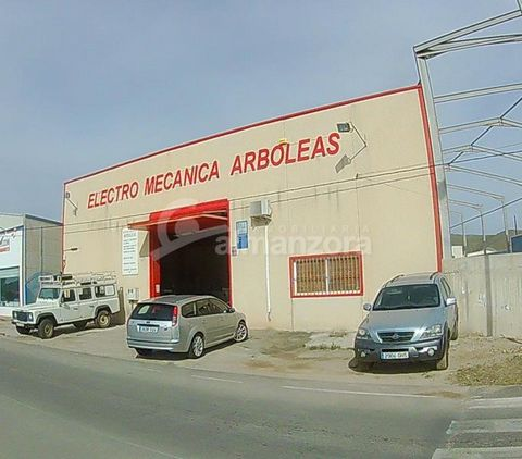 A well established garage for sale in a good location between Albox and Arboleas. The workshop is fully equipped and the business has a regular and strong customer base.Fully registered,the garage area is approximately 338 m2 and also has two offices...