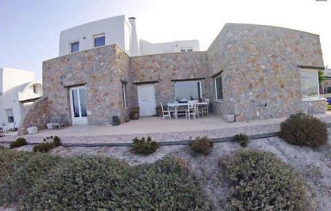 Big Villa with Sea Views at Santorini For Sale SANTORINI Fira, Stone villa with sea views, in total 240 sqm. Constructed in 2010 The villa is in total 3 houses in total 240 sq.m on a land plot of 3.000 sq.m with a garage of 80 sq.m. The main house is...