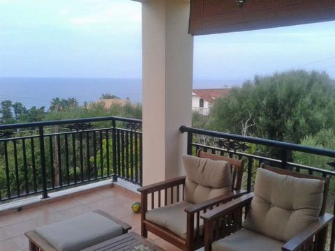 House of 136sqm, fully furnished, just 100 meters away from the sea, is for sale. The house has 2 apartments, on the ground floor there is one apartment of 68sqm, consisting of open plan living room – kitchen – dining area, 2 bedrooms and a bathroom,...