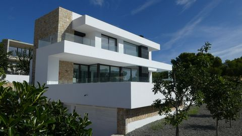 A 3 bedroom modern villa in Moraira, Costa Blanca, with private pool and sea views, just 1 km from the beach. This 220 sqm modern villa in Moraira is located on a 800 sqm plot. Fully fenced and facing south, with open sea views. The villa is situated...