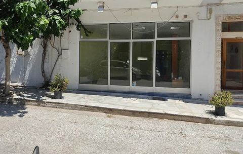For sale a store of 83 sq.m. on a commercial road in the town of Tinos, near the 2nd primary school, with 5m. showcase, polished granite floor. Suitable for office or retail store. Price 90.000 euros