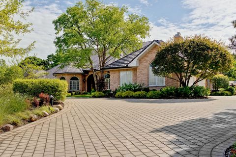 Timeless custom brick ranch home nestled on 1.2 acres at the end of a private cul-de-sac lane in East Northbrook with all the finest amenities and finishes, including seamless indoor and outdoor living! Quality abounds in this very thoughtfully desig...
