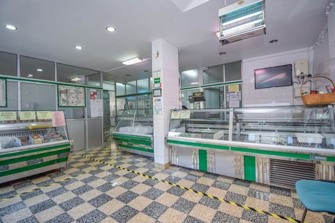 Butcher's shop is sold in full operation, fully equipped, in a residential area with commerce and business, next to the airport. It has several years of activity, good client portfolio and good turnover. Preference is given to the option of albeding ...