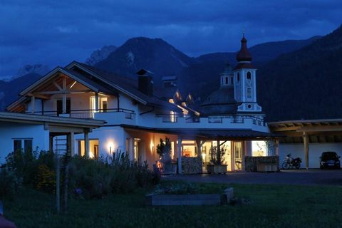 We invite you to enjoy our two newly-built and individually designed houses with 3 different sized apartments. Have a peaceful, relaxing holiday in the East Tyrolean Mountains, surrounded by the Dolomites of Lienz and the imposing massif of the South...