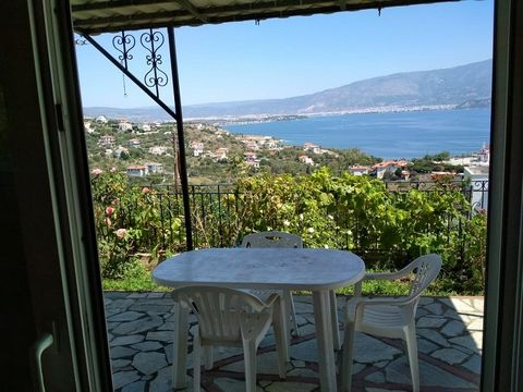 ouse in a beautiful environment with a breathtaking view at Pagasitikos Bay and the mountain of Pelion. Quiet, in a peaceful and sparsely built neighborhood, ideal for those who seek privacy and at the same time want to explore the famous region of P...