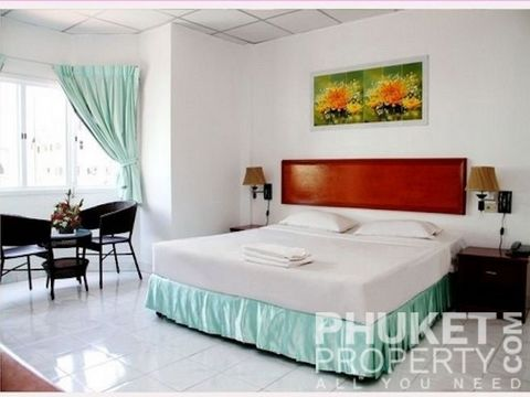 This guest house / hotel for sale in Karon, Phuket, is located within a short walk to the Karon roundabout and the beautiful sandy shores of Karon Beach. and a variety of water sports, shopping, entertainment and restaurants.Please contact us direct...