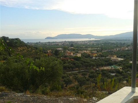 Zakynthos. Villa fully furnished 194 sqm on a plot of 11,000sqm with panoramic views of Laganas Bay and the town, for sale. The villa consists of three bedrooms each with its own bathroom and large terraces overlooking the sea, kitchen, 3 bathrooms, ...
