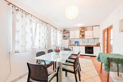 This holiday home is situated in a small place called Ribarica near the town of Karlobag under the beautifully mountain range Velebit and vis-a-vis the island of Pag. All those who like nature, Mediterian climate and crystal clean water, will make a ...