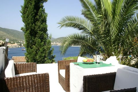 Having a living/bedroom, this apartment in Vis, Dalmatia rests near the sea. On the terrace, you can enjoy sea views along with delightful meals. The apartment is ideal for a couple, or family of 3 persons, or a group of 3 friends. Viz is a gem in th...