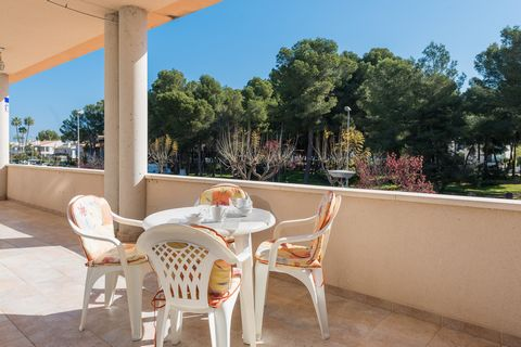 Welcome to this great apartment for 3 people located on a ground floor and only 350 metres away from the beach in Puerto de Alcudia. The terrace of this wonderful apartment invites to enjoy a delicious and energising breakfast every morning before he...