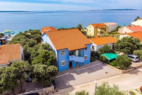 Set in a peaceful fishing village on Pag Island in Mandre, this breath-takingly beautiful apartment offers a fully equipped kitchen and a balcony. Mandre's unspoiled beaches are a few steps away. Ideal for a family, kids are also welcome here as this...