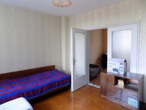 For sale an apartment, old brick construction, in the wide center of kardzhali, in the market area. The apartment has a clean area of 86 sq.m. and consists of a corridor, two bedrooms, a living room, a dining room with a kitchenette, a bathroom, a se...