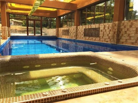 Brand new fully equipped and ready-to-use hotel with SPA! The hotel is built on a plot of land of 9763 sq. m. In the famous locality of Panagyurski colonies. Built-up Area 293 sq. m., TOTAL area 2138, 93 sq. m. The building has 4 floors with the foll...